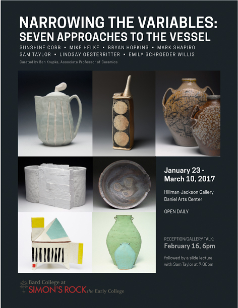 Nationally-Known Ceramic Artists Exhibition