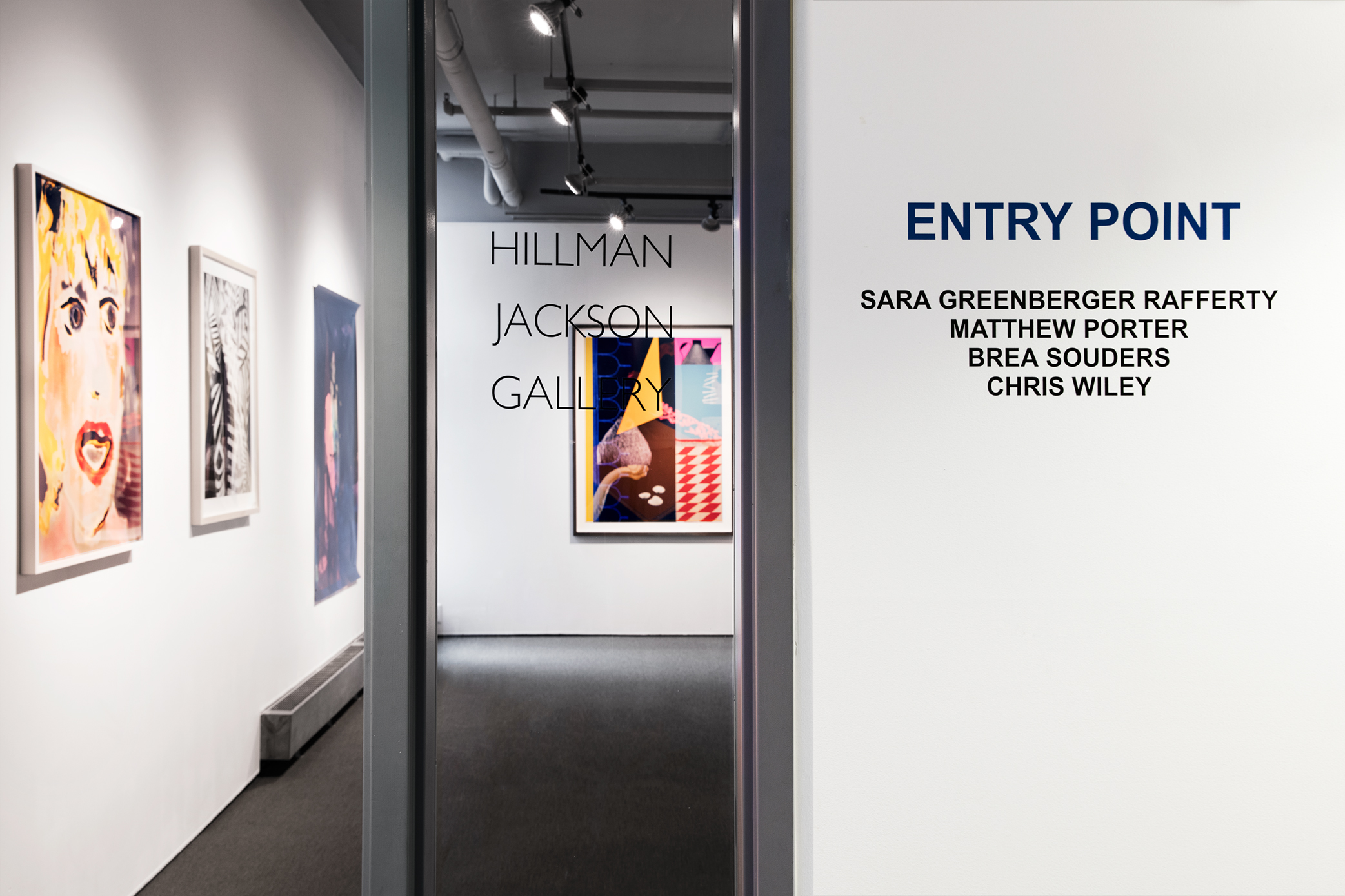 Entry Point Exhibition Now Showing at Hillman-Jackson Gallery