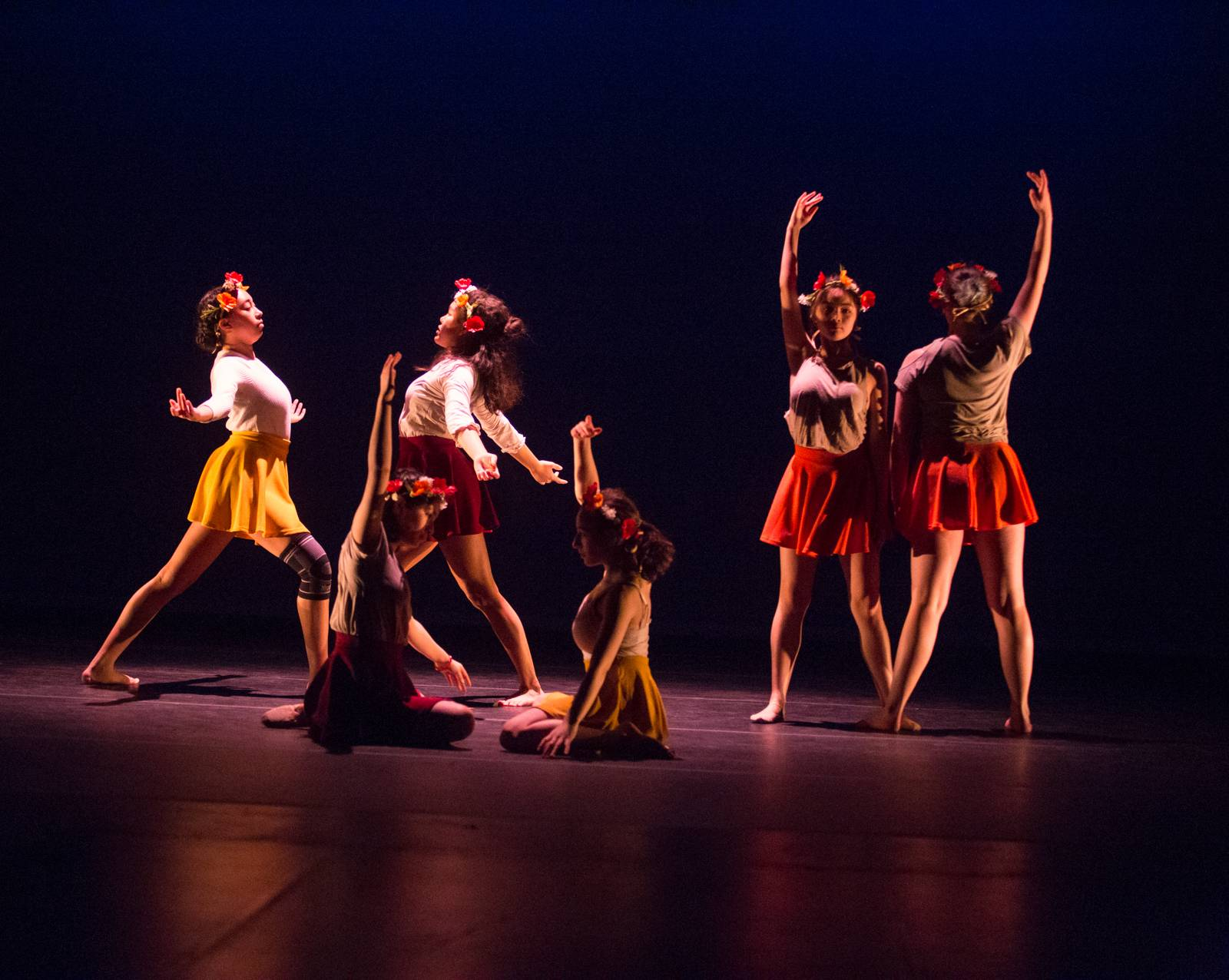 The Dance Department at Bard College at Simon's Rock presented its first ever Fall Dance Festival December 8-10 in the Daniel Arts Center, showcasing dance pieces created and performed by students and faculty.