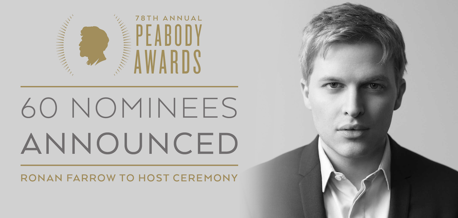 Peabody Awards with Ronan Farrow