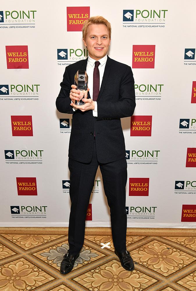 Ronan Farrow Point Courage Award
