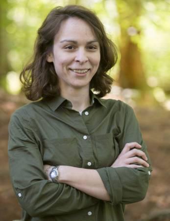 Amanda Landi, faculty member in Mathematics.