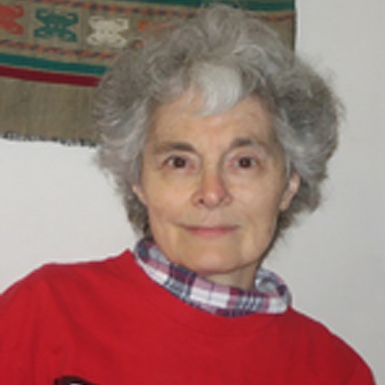 Professor Nancy Bonvillain in her office.