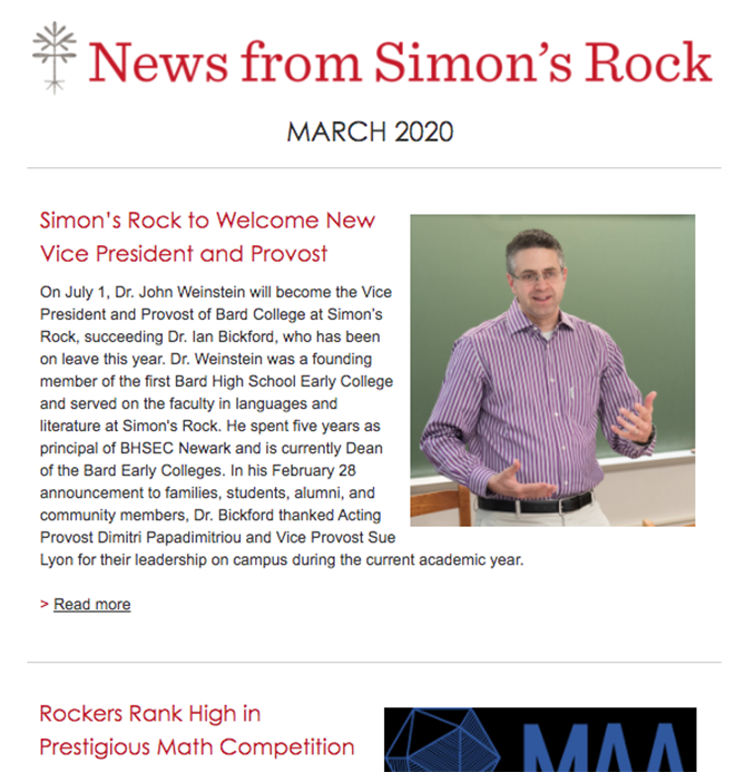 March IA Newsletter