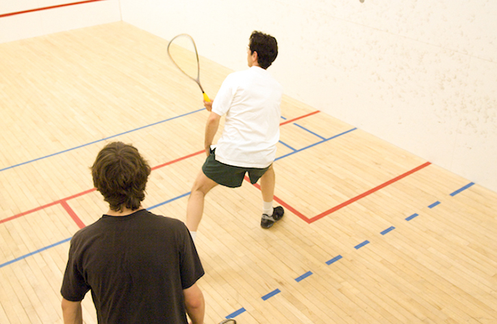 Squash and Racquetball Courts