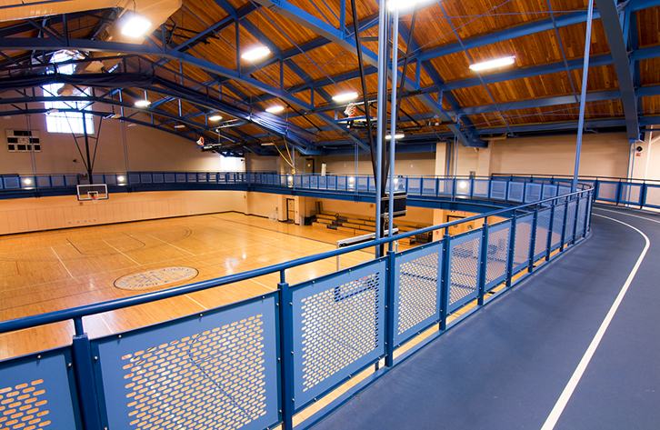 Kilpatrick athletic center bard college at simon 39 s rock for Building indoor basketball court