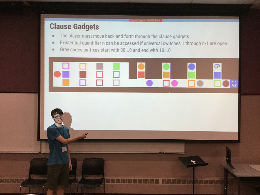 Jonathan presents at the Canadian Conference for Computational Geometry