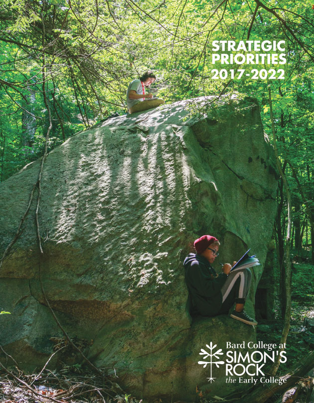 PDF Cover - students on large rock